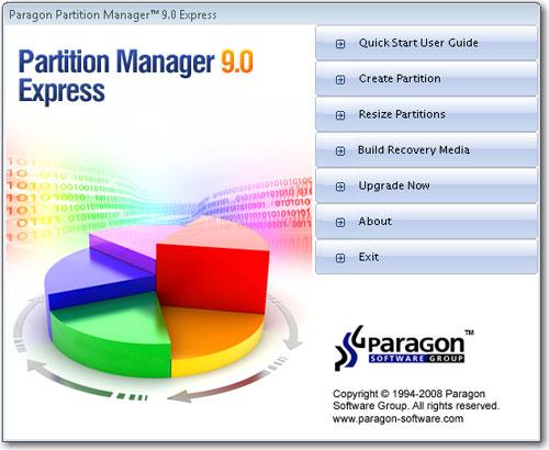 T l charger Paragon Partition Manager (gratuit)