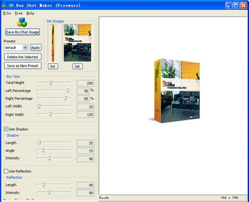 Free 3d Box Image Maker Software To Create 3d Box Shot